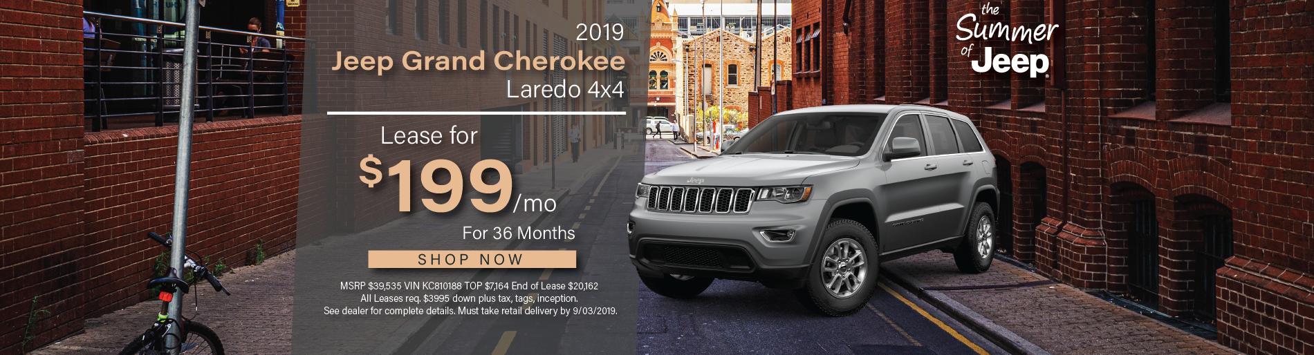 2019 Jeep Grand Cherokee | Lilliston Chrysler Dodge Jeep Ram